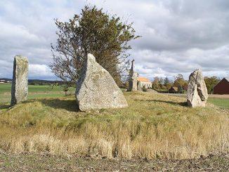 """""""Västra Strö-monumentet"""" [Skåne]"""